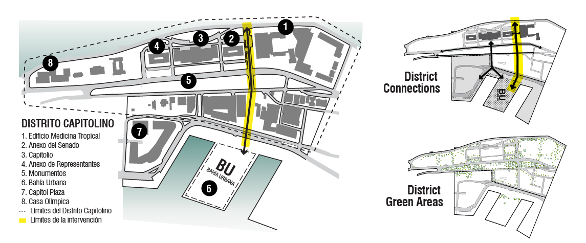East Connector site diagram
