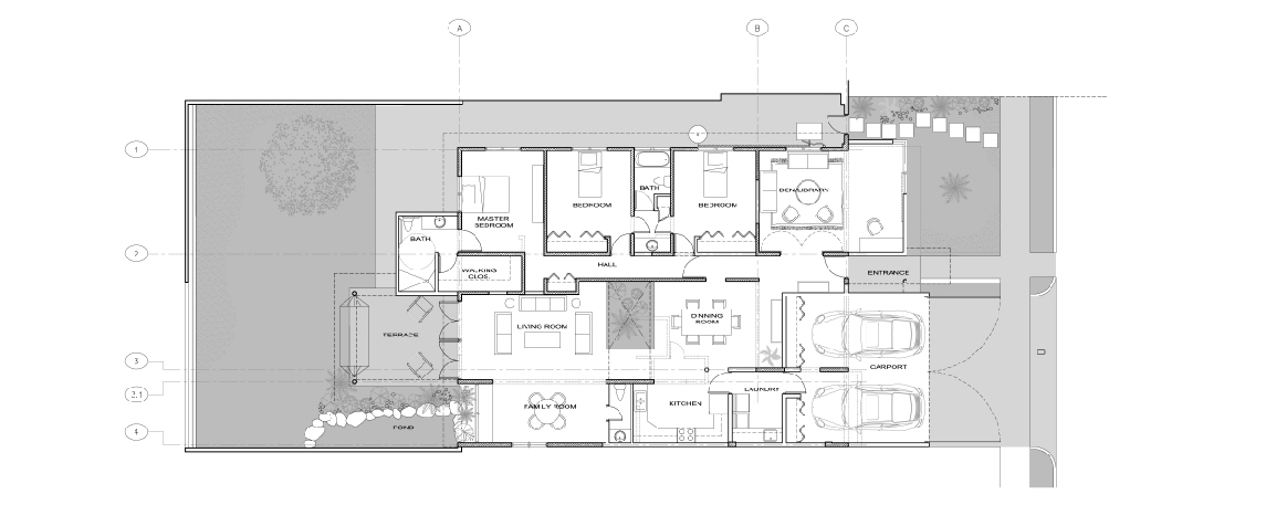 Joe Vazquez Residence floor plan