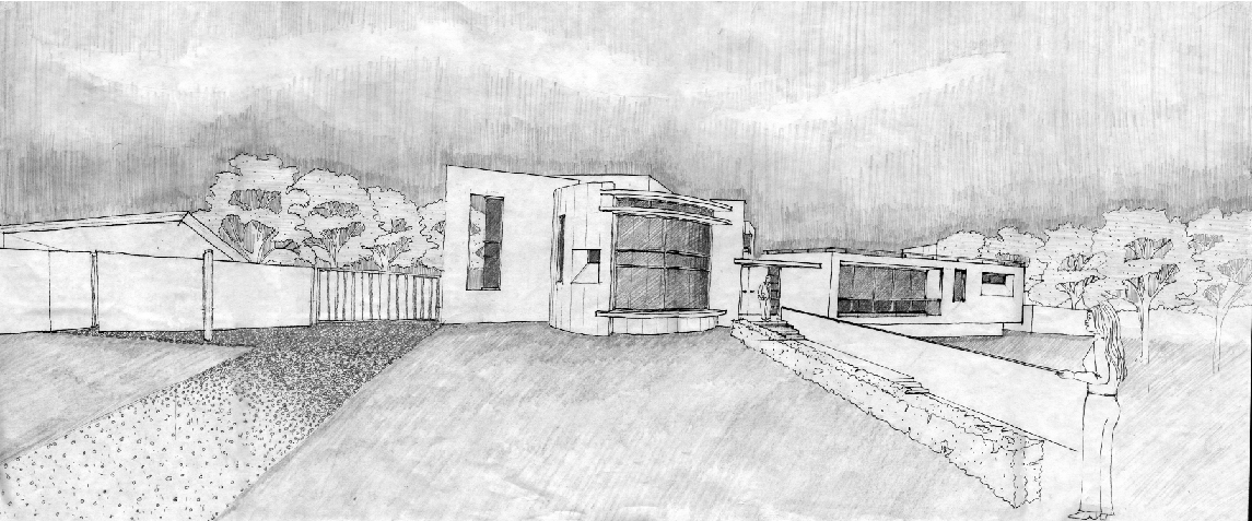 Lagoon House sketch