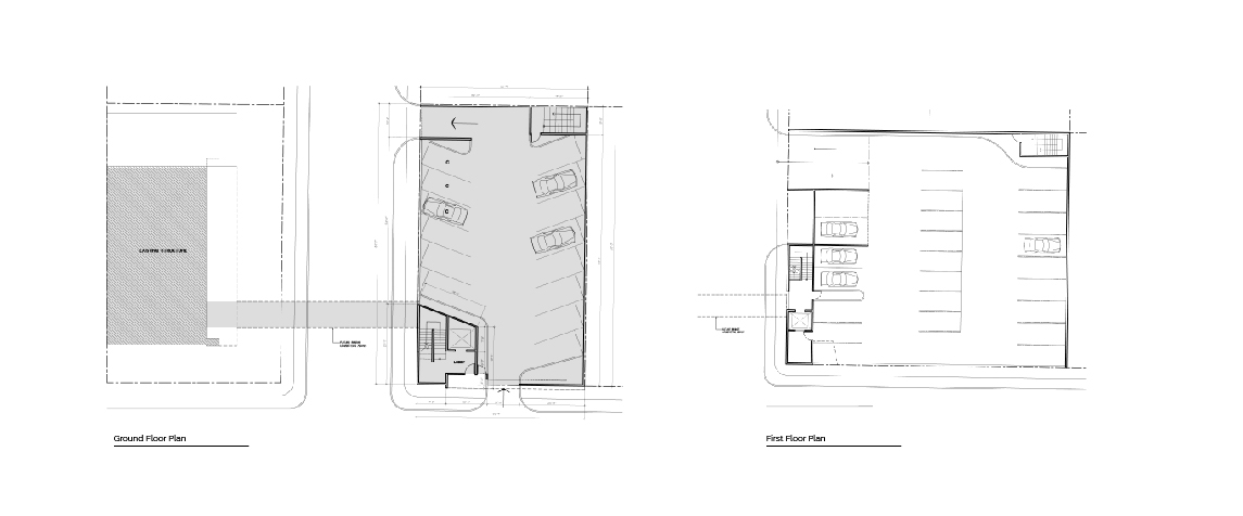 Manati Image Center ground and first floor plans