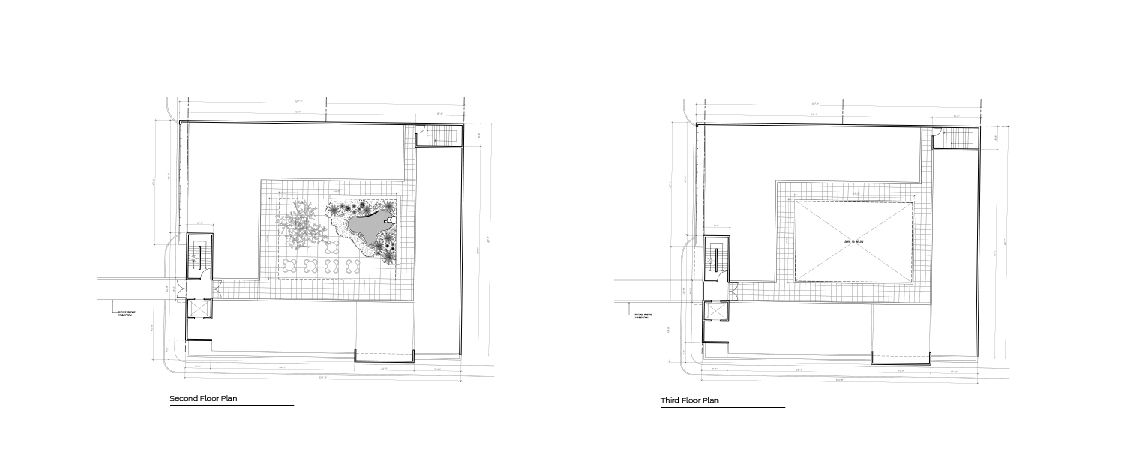 Manati Image Center second and third floor plans