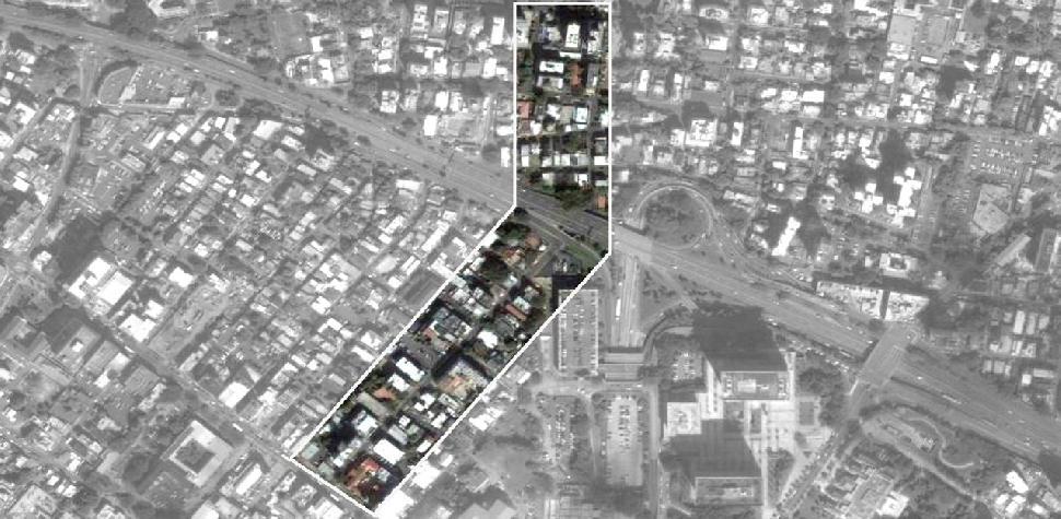 Santurce-Condado Connector targeted area for intervention