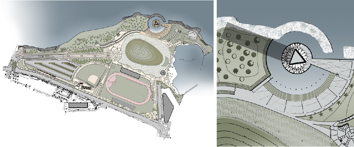 Third Millennium Park plan and site plan