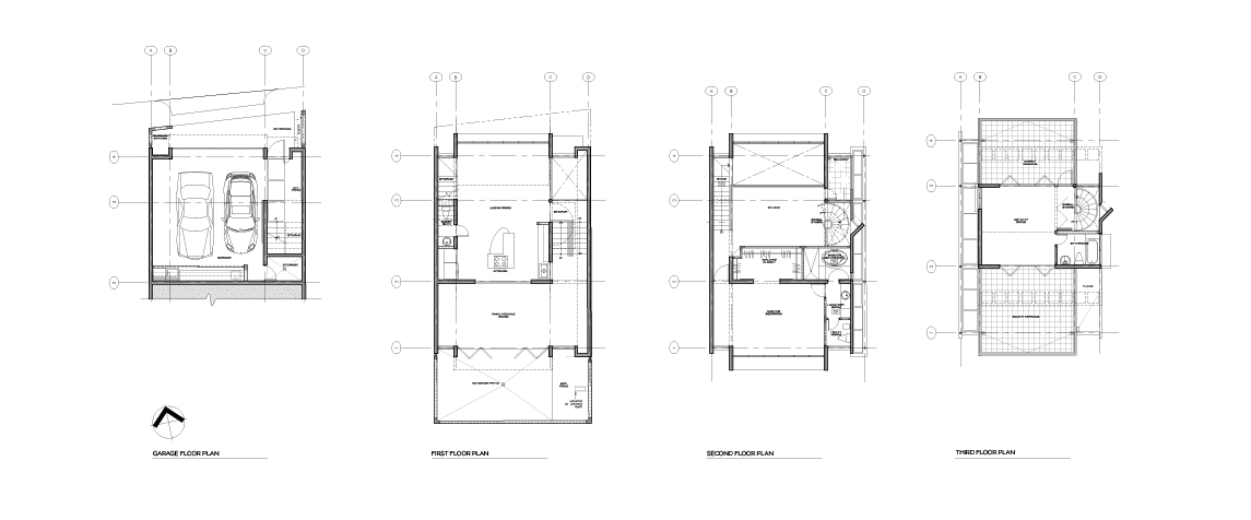 Urban House floor plans